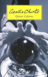 Libro Quinta colonna Agatha Christie