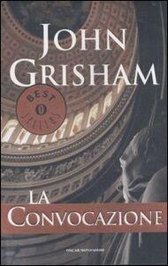 Libro La convocazione John Grisham