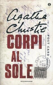 Libro Corpi al sole Agatha Christie