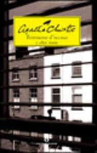 Libro Testimone d'accusa e altre storie Agatha Christie