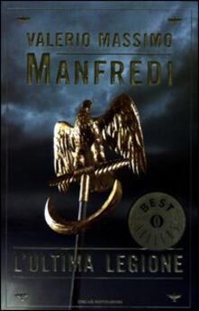 L' ultima legione - Valerio Massimo Manfredi - copertina