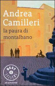 Libro La paura di Montalbano Andrea Camilleri