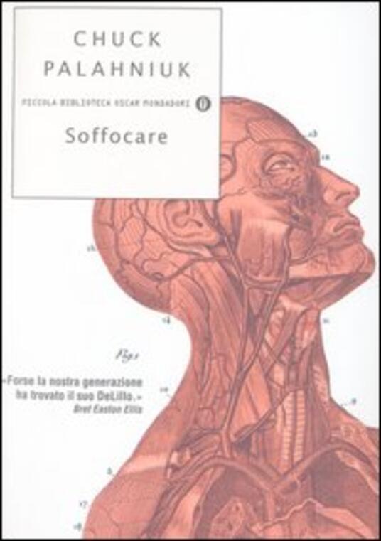 Soffocare - Chuck Palahniuk - copertina