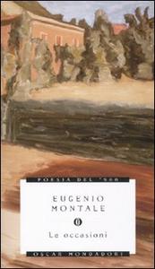 Libro Le occasioni Eugenio Montale