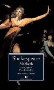 Foto Cover di Macbeth, Libro di William Shakespeare, edito da Mondadori