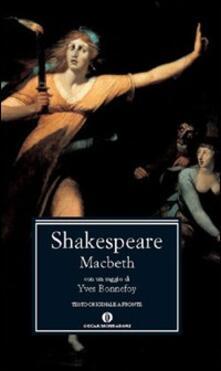 Macbeth - William Shakespeare - copertina