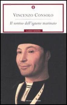 Il sorriso dell'ignoto marinaio - Vincenzo Consolo - copertina