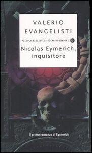 Libro Nicolas Eymerich, inquisitore Valerio Evangelisti