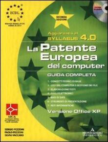 Grandtoureventi.it La patente europea. Guida completa, Office XP. Syllabus 4.0. Con CD-ROM Image