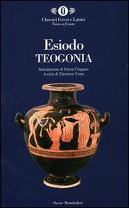 Teogonia. Testo greco a fronte