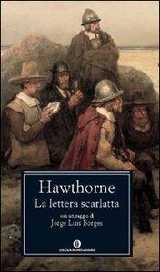 Libro La lettera scarlatta Nathaniel Hawthorne