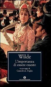 Foto Cover di L' importanza di essere onesto, Libro di Oscar Wilde, edito da Mondadori