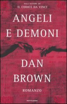 Angeli e demoni - Dan Brown - copertina
