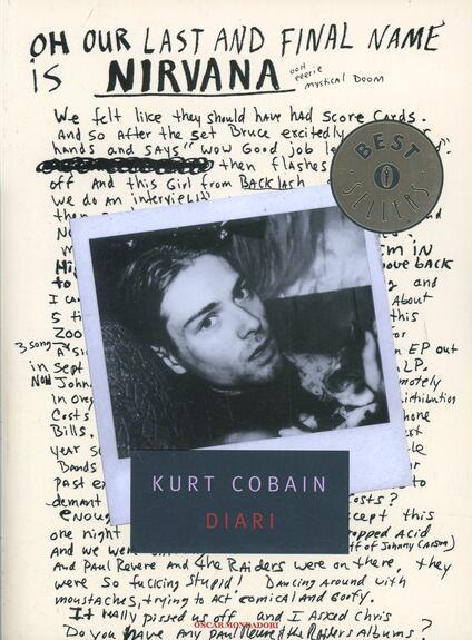 Diari - Kurt Cobain - copertina