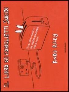 Il libro dei coniglietti suicidi - Andy Riley - copertina