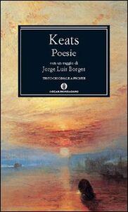 Foto Cover di Poesie, Libro di John Keats, edito da Mondadori