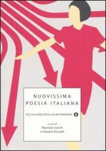Libro Nuovissima poesia italiana