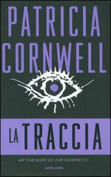 La traccia - Patricia D. Cornwell - copertina