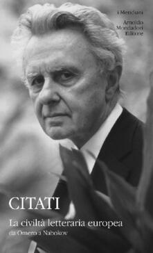 La civiltà letteraria europea da Omero a Nabokov.pdf