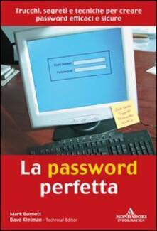 Adiaphora.it La password perfetta Image