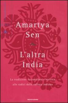 Antondemarirreguera.es L' altra India. La tradizione razionalista e scettica alle radice della cultura indiana Image
