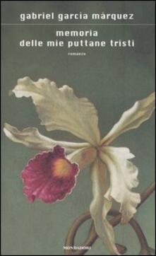 Memoria delle mie puttane tristi - Gabriel García Márquez - copertina