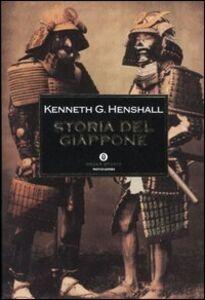 Foto Cover di Storia del Giappone, Libro di Kenneth G. Henshall, edito da Mondadori