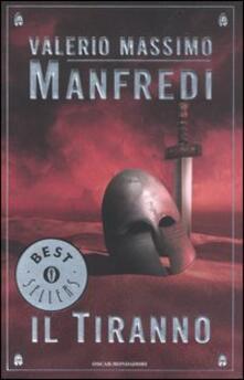 Il tiranno - Valerio Massimo Manfredi - copertina