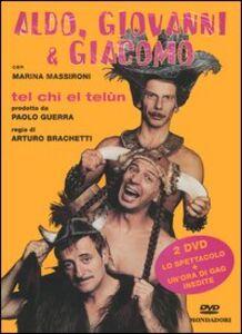Libro Tel chi el telùn. 2 DVD. Con libro Aldo Giovanni e Giacomo