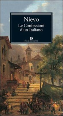 Le confessioni d'un italiano - Ippolito Nievo - copertina
