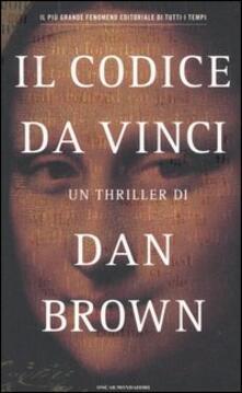 Il Codice da Vinci - Dan Brown - copertina