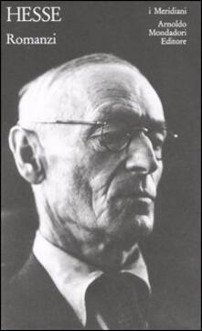 Romanzi - Hermann Hesse - copertina