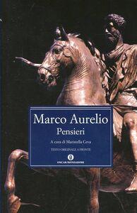 Libro Pensieri Marco Aurelio