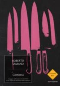 Copertina del libro Gomorra di Roberto Saviano, ed. Mondadori - Strade Blu