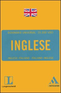 Libro Langenscheidt. Inglese. Inglese-italiano, italiano-inglese