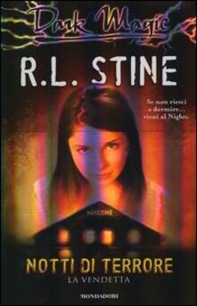 La vendetta. Notti di terrore - Robert L. Stine - copertina