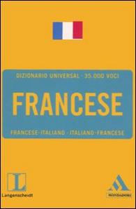Libro Langenscheidt. Francese. Francese-italiano, italiano-francese