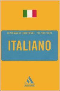 Libro Dizionario universal. Italiano