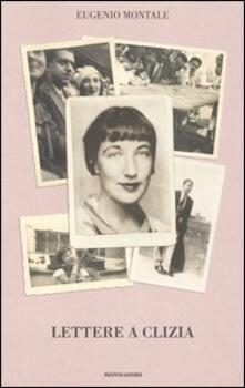 Lettere a Clizia - Eugenio Montale - copertina