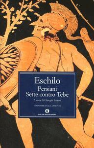 I persiani-I sette contro Tebe