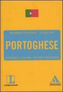 Libro Langenscheidt. Portoghese. Portoghese-italiano, italiano-portoghese