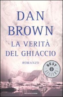 La verità del ghiaccio - Dan Brown - copertina