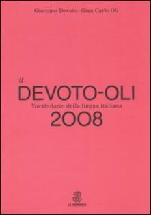 Voluntariadobaleares2014.es Il Devoto-Oli. Vocabolario della lingua italiana 2008 Image