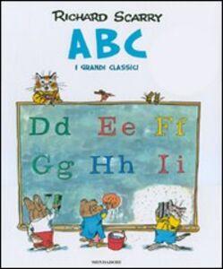 Libro ABC. I grandi classici Richard Scarry