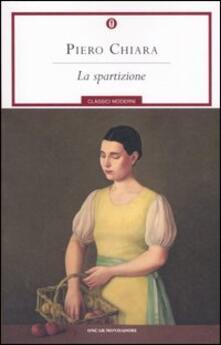 La spartizione - Piero Chiara - copertina