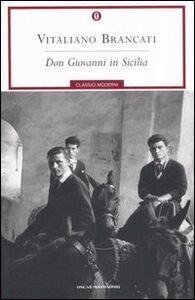 Libro Don Giovanni in Sicilia Vitaliano Brancati