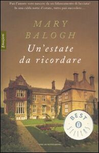 Libro Un' estate da ricordare Mary Balogh