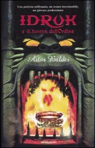 Libro Idruk e il tesoro dell'Ordine Artur Balder