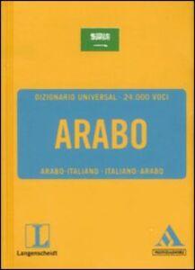 Foto Cover di Langenscheidt. Arabo. Italiano-arabo, arabo-italiano, Libro di  edito da Mondadori