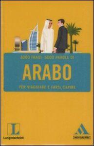 Libro Langenscheidt. Arabo per viaggiare e farsi capire
